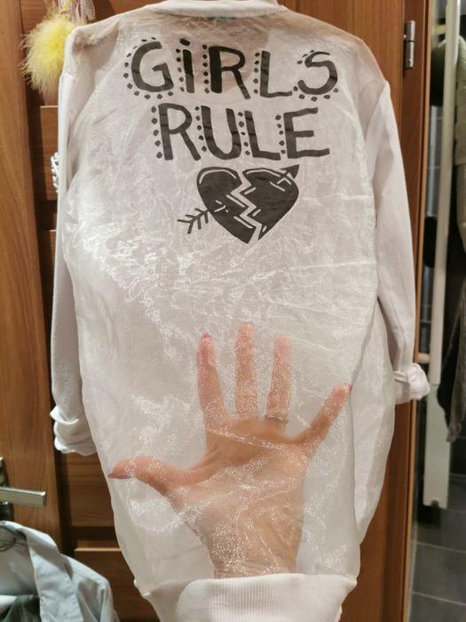 Biała włoska bluza uniwersalna Ustroń - image 1