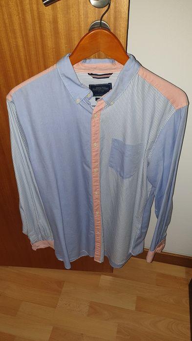 Camisa Springfield Homem tamanho L Vila do Porto - imagem 1