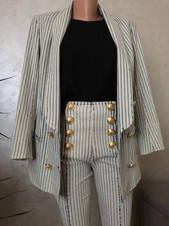 Костюм Balmain original оригинал костюм двойка пиджак и брюки