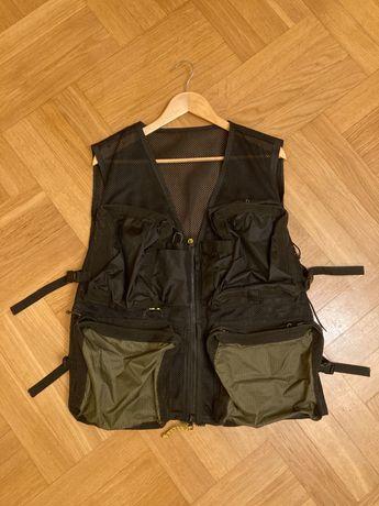Kamizelka survivalowa/wędkarska/plecak