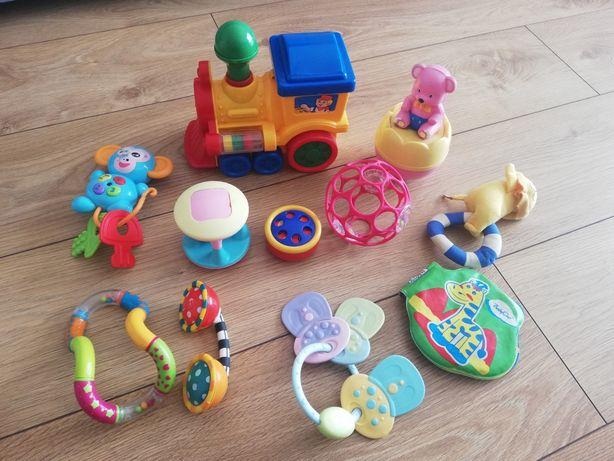 Zestaw grzechotek gryzaków zabawek dla maluszka