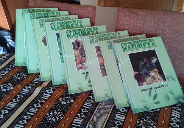 8 Livros-OS SEGREDOS DA NATUREZA (ediclube)
