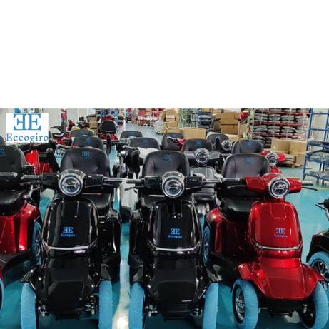 Scooter eletrica de mobilidade reduzida.