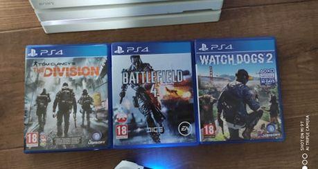WYMIENIE/SPRZEDAM Battlefield 4 The Division Watch Dogs 2 GRY PS4