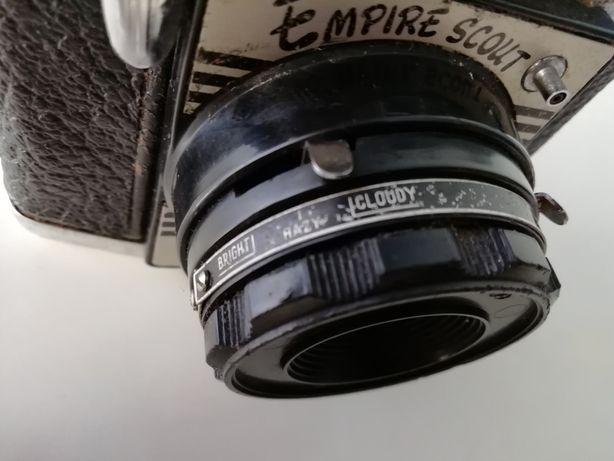 Câmara fotográfica vintage Empire Scout