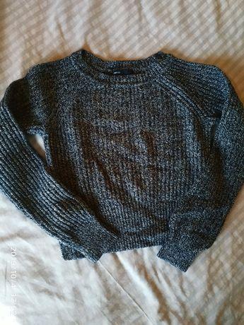 Теплий вязаний свитер,реглан кофта на хлопчика чи дівчинку 7-8 рочків