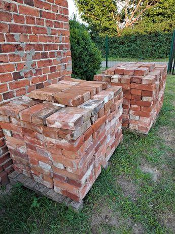 Cegły z rozbiórki- czyste 1000 Sztuk