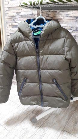Куртка зимняя на  5-7 лет