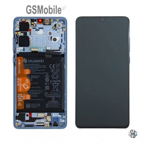 Modulo Display Ecrã LCD Touch Frame Bateria Huawei P30 ORIGINAL