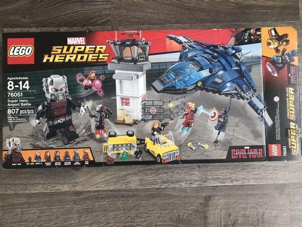 Lego marvel super heroes airport battle