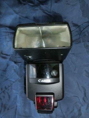 Фотовспышка Canon Speedlite 540EZ TTL+выносной блок питания.