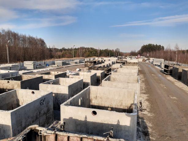 szamba szambo zbiorniki betonowe 12m3 wysoka jakość wodoszczelne