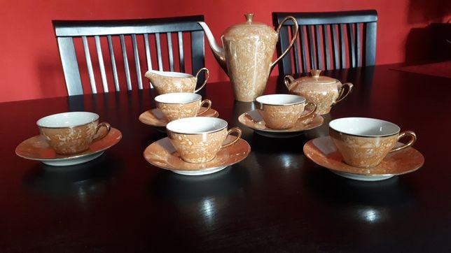 Porcelana PRL zestaw kawowy herbaciany