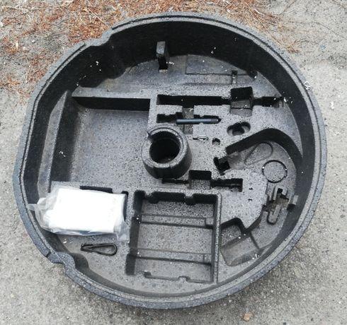 Pianka, wkład koła zapasowego A4 B6