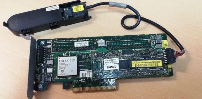 Controladora HP SmartArray P400 256Mb cache
