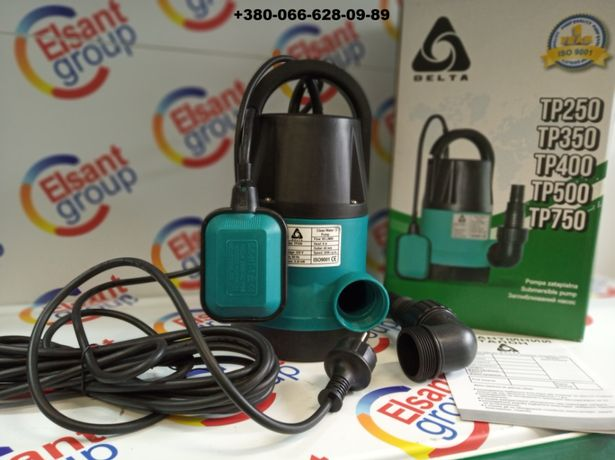 насос дренажный для грязной дождевой воды для полива 0,25 кВт TP-250