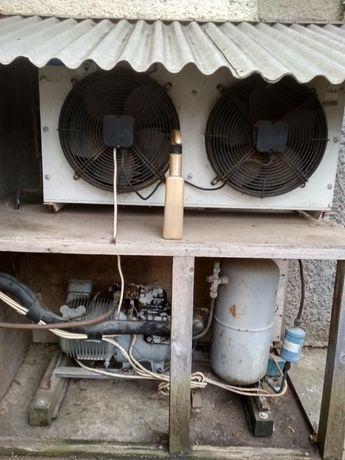 Холодильная установка бу в рабочем состоянии