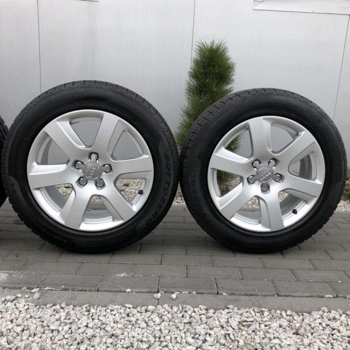 >> Alufelgi AUDI A6 A5 A4 A3 A7 A8 + opony Pirelli 225/55r17 Wałbrzych - image 1