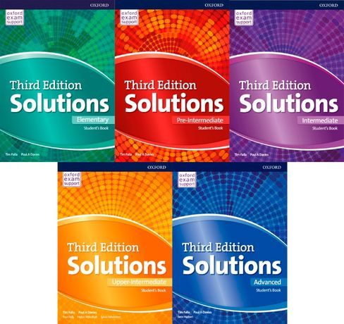 Solutions 3rd Edition Elementary,Pre-,Upper-,Intermediate,Advanced PDF