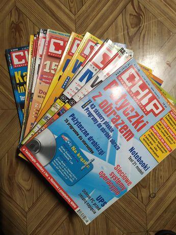 Magazyn Chip - zestaw 16 numerów z lat 99-04, stan bardzo dobry