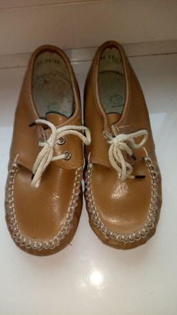 Туфли детские кожаные,новые