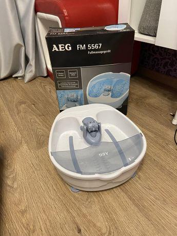 Гидромассажная ванна для ног AEG FM5567 (Фокстрот)