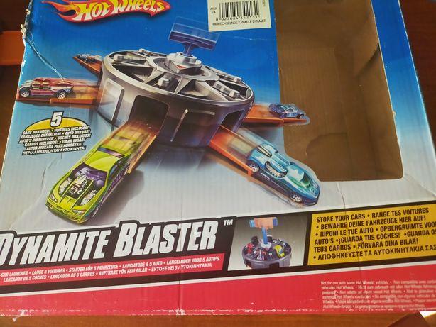 Wyrzutnia Hot Wheels dynamite blaster