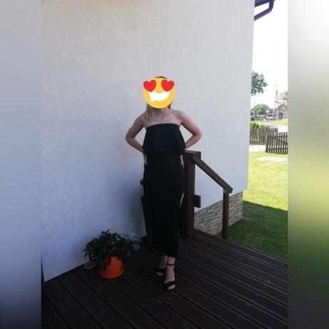 Sukienka długa czarna Sugarfree