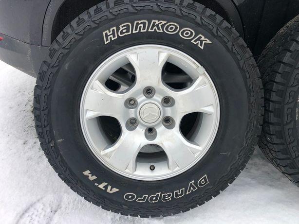 Opony zimowe 245/70/16 SUV Hankook Dynapro Para 2szt