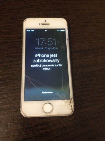 Iphone 5s 16gb Tychy.