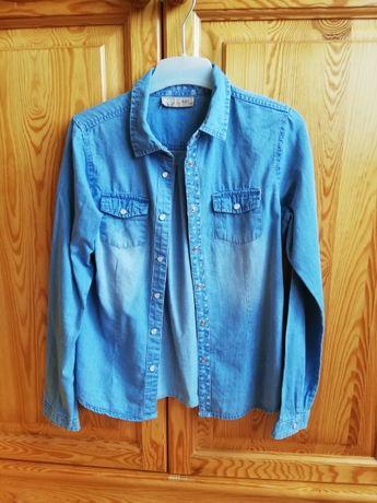 koszula jeansowa dziewczęca cool club 152