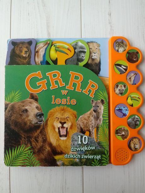 Książka dźwiękowa Grrr w lesie