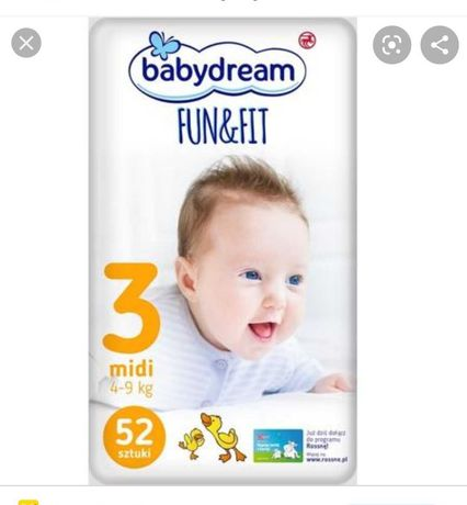 Papmpersy Babydream Fun&Fit 3