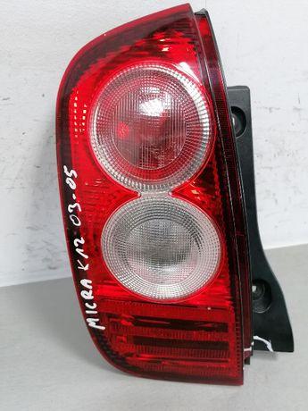 Lampa lewy tył Nissan Micra k12 02-07 EU
