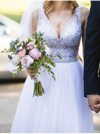 Suknia ślubna (biała)