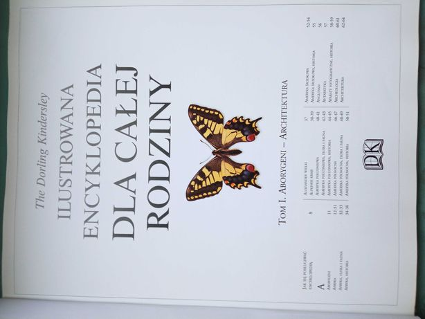 Ilustrowana encyklopedia dla całej rodziny.