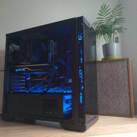 LED Komputer do GIER, Intel, 16Gb, RX480, Win 10, 120 SSD,