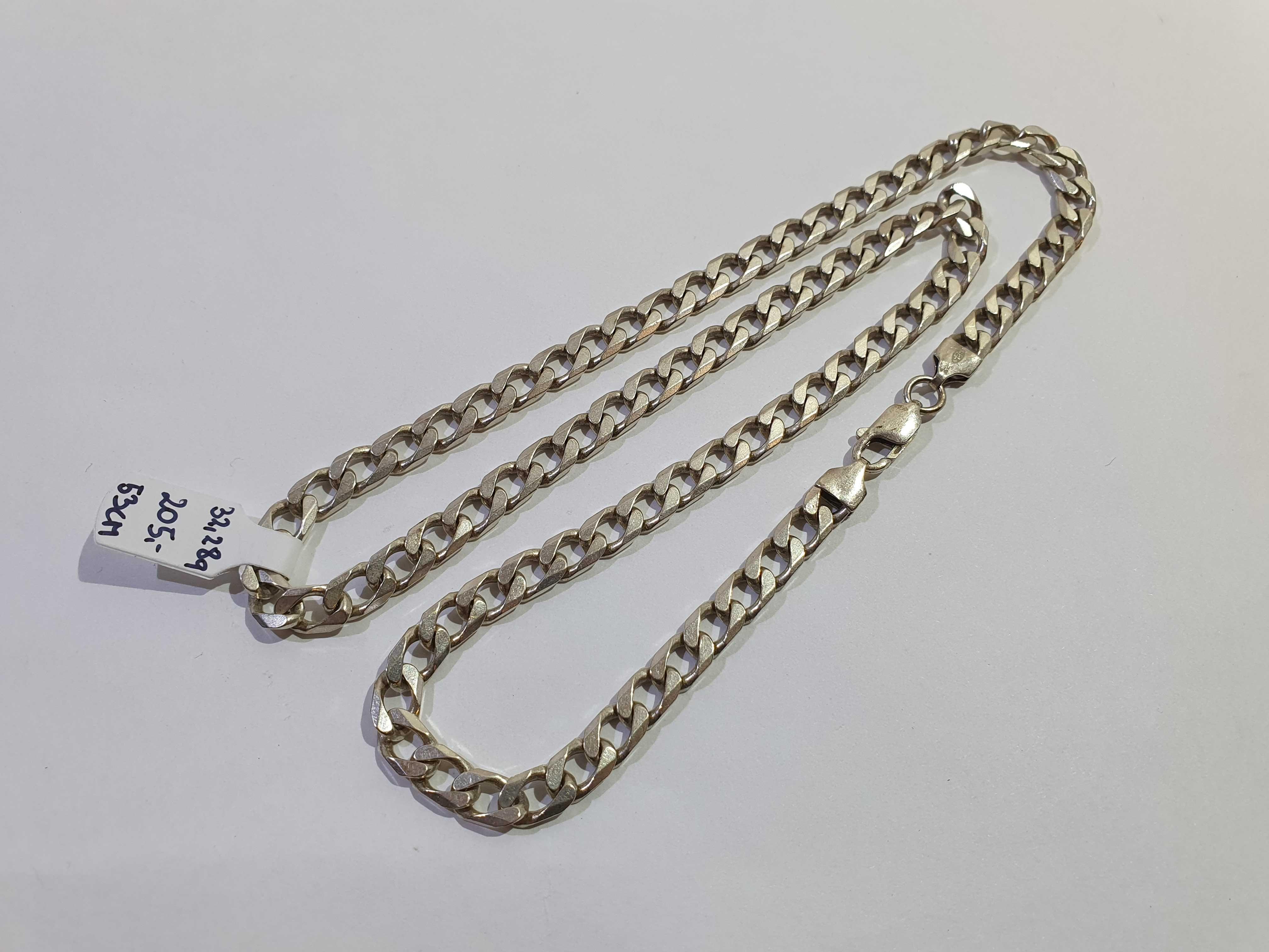 Łańcuszek srebrny, srebro 925, Lombard Jasło Czackiego