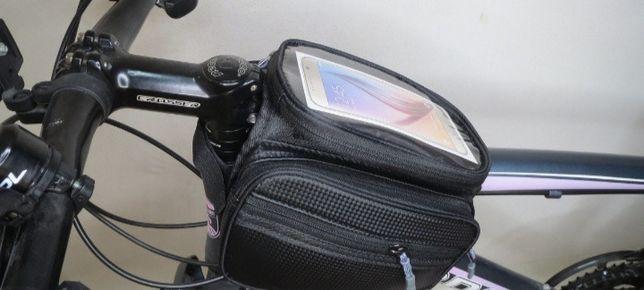Продам Вело сумки надрамные.+чехол под смартфон.Три модели