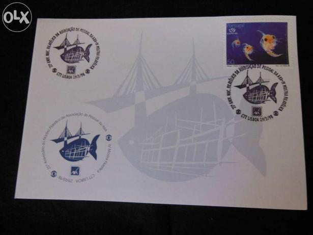 Filatelia-Envelope Comemorativo