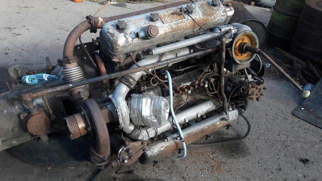 Двигатель 238 на СуперМаз с коробкой