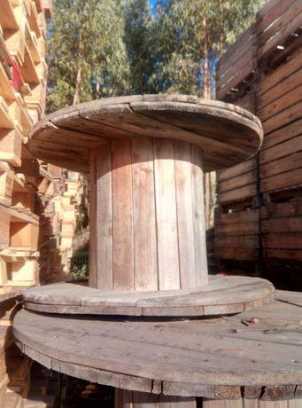 Bobine de madeira