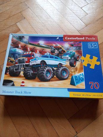 Komplet puzzli Castorland i Trefl dla chłopca