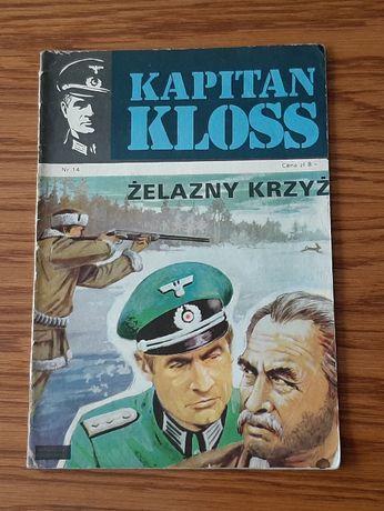 """Komiks Kapitan Kloss """" Żelazny krzyż"""" nr 14 wyd. I z 1973 roku"""