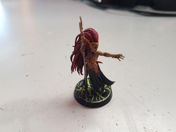 Sorceress Dark Elves Warhammer FB