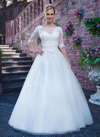 Sukienka ślubna, suknia ślubna Sincerity ivory wesele ślub