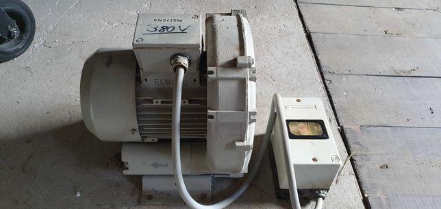 Pompa próżniowa wentylator bocznokanałowy.