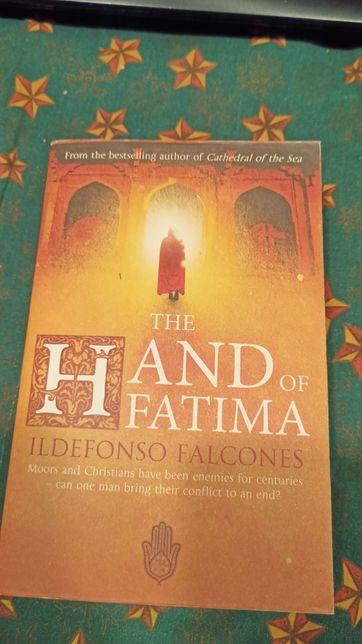 """""""Hand of Fatima"""" Ildefons Falcones wyd.anglojezyczne"""
