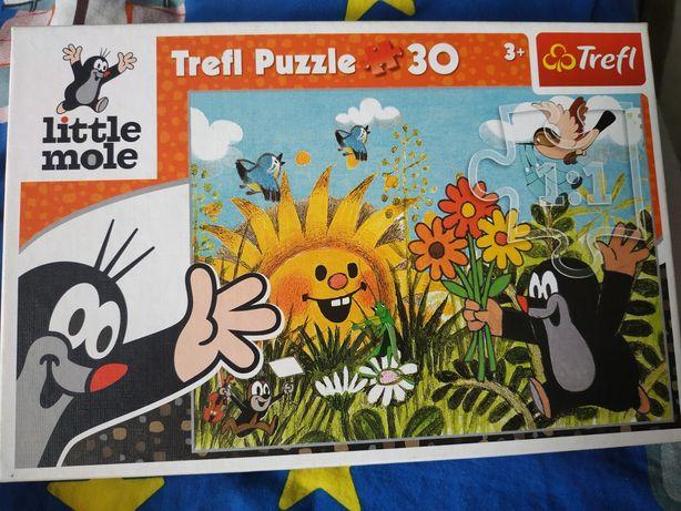 Puzzle krecik - 30szt