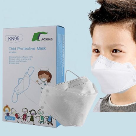 Máscaras FFP2 para crianças dos 3 aos 14 anos - certificação CE